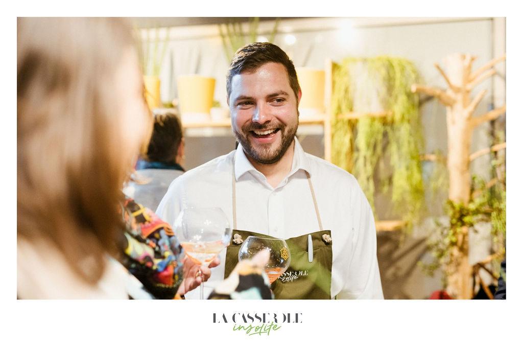 Cédric Kuster, propriétaire du restaurant La Casserole à Strasbourg