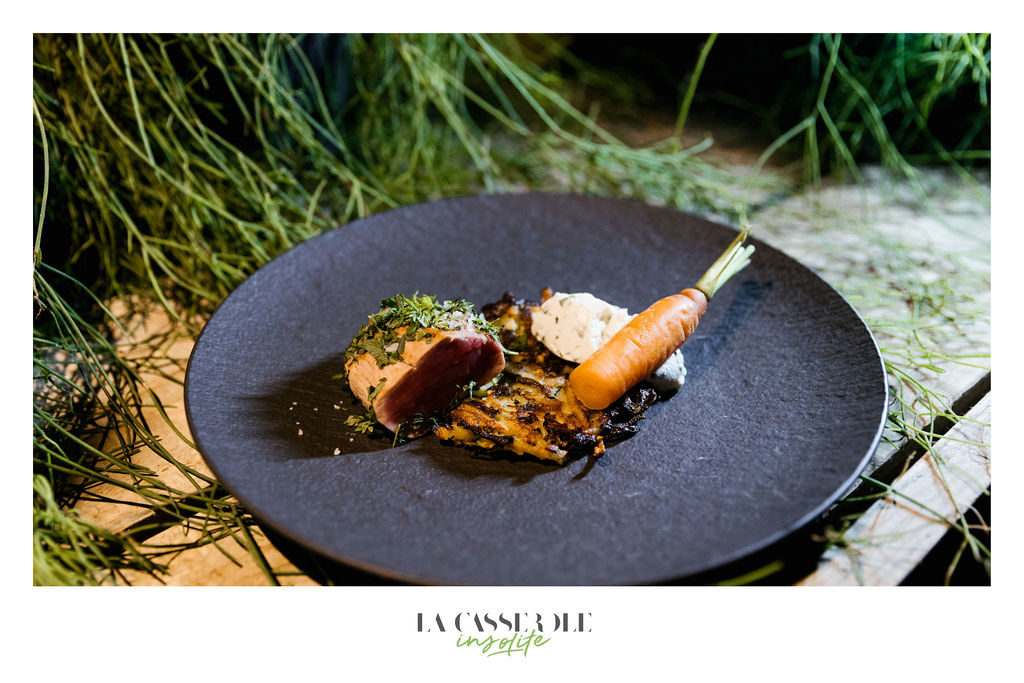 Viande du diner insolite La Casserole