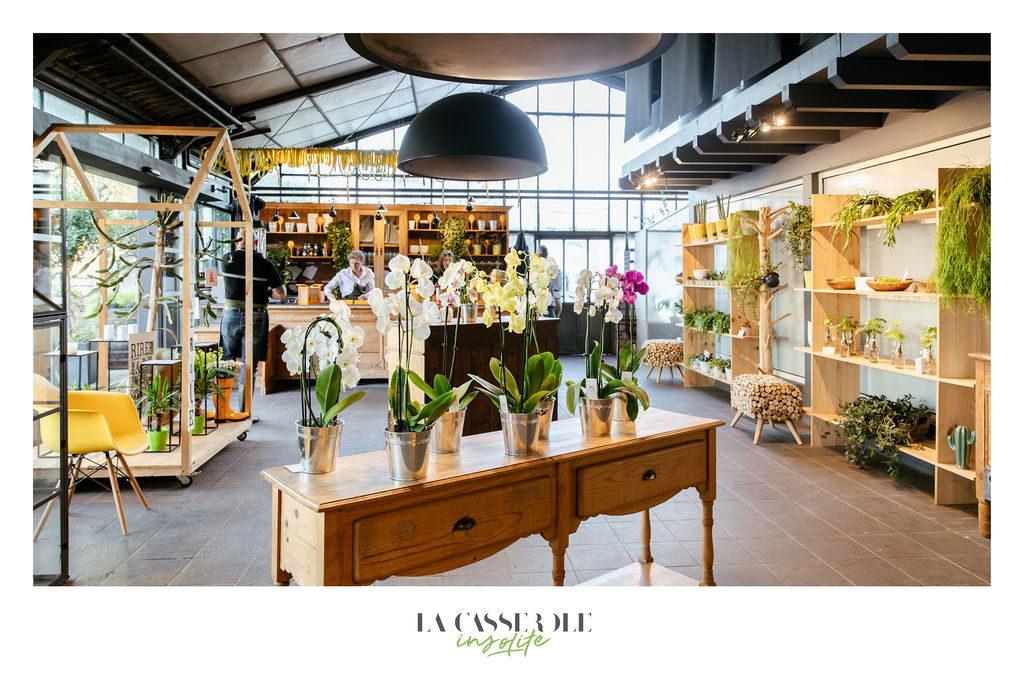 Décors d'une boutique pour le diner insolite de La Casserole à Strasbourg